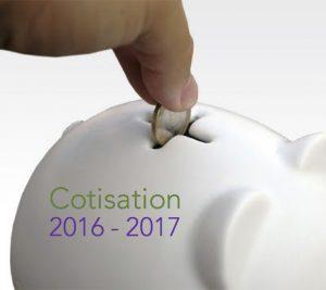 Appel à cotisation 2016-2017